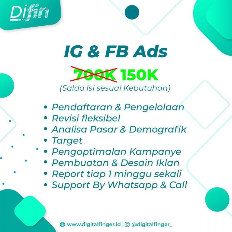 Jasa IG & FB Ads